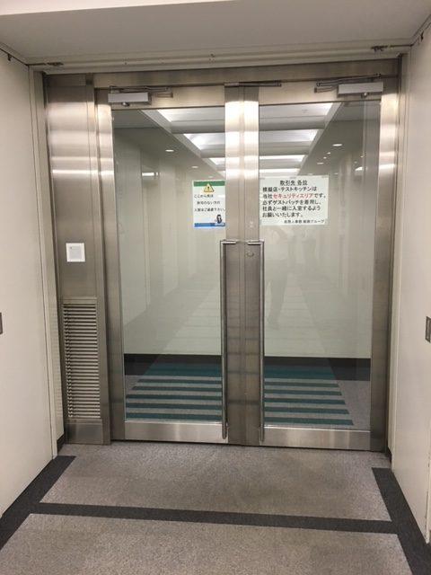 ステンレス製扉|東京都某超高層ビルオフィス棟