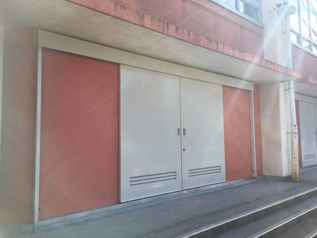 スチール製引戸|東京都板橋区某小学校