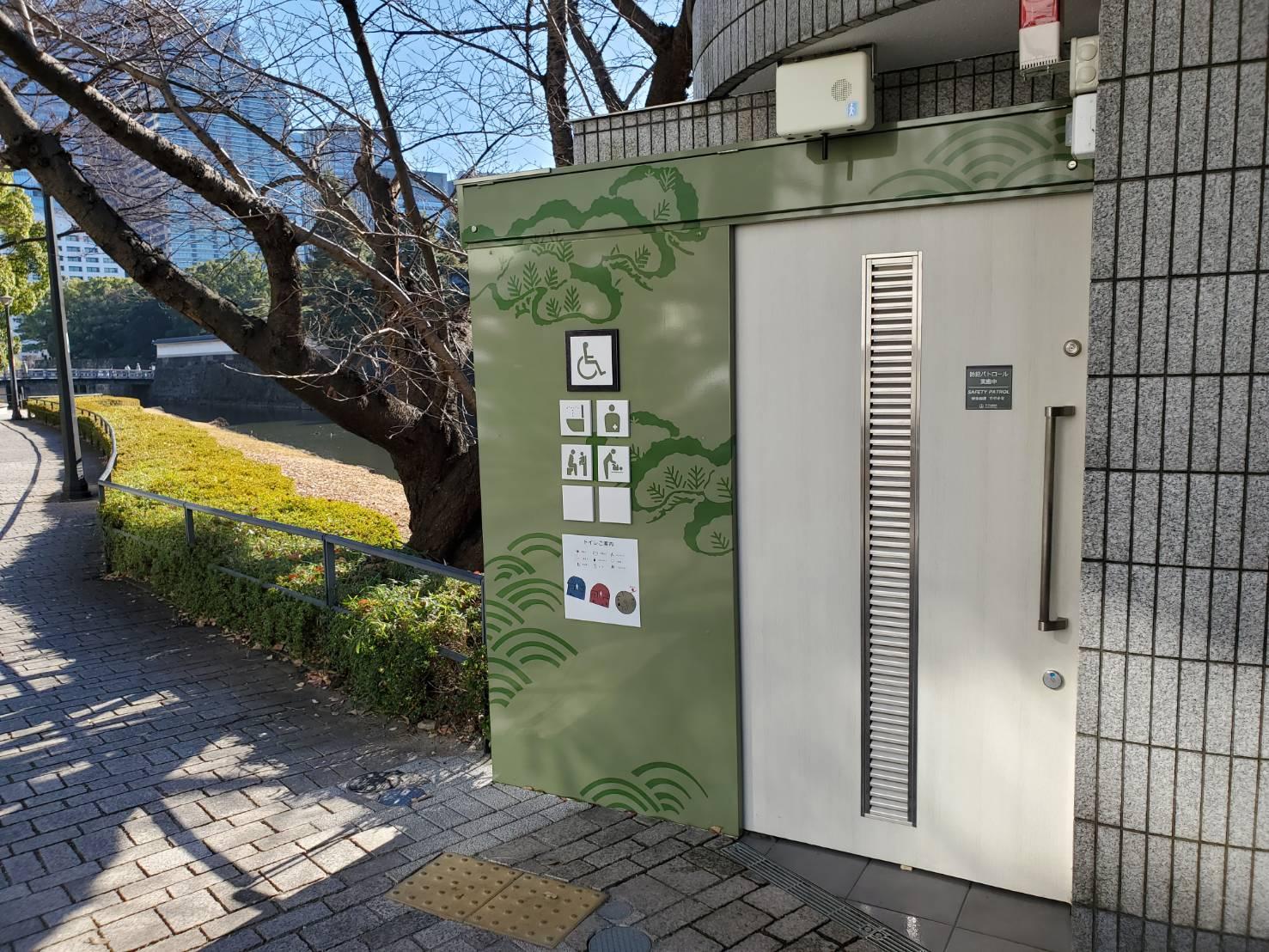スチールドア スチール引戸|東京都某公園公衆トイレ