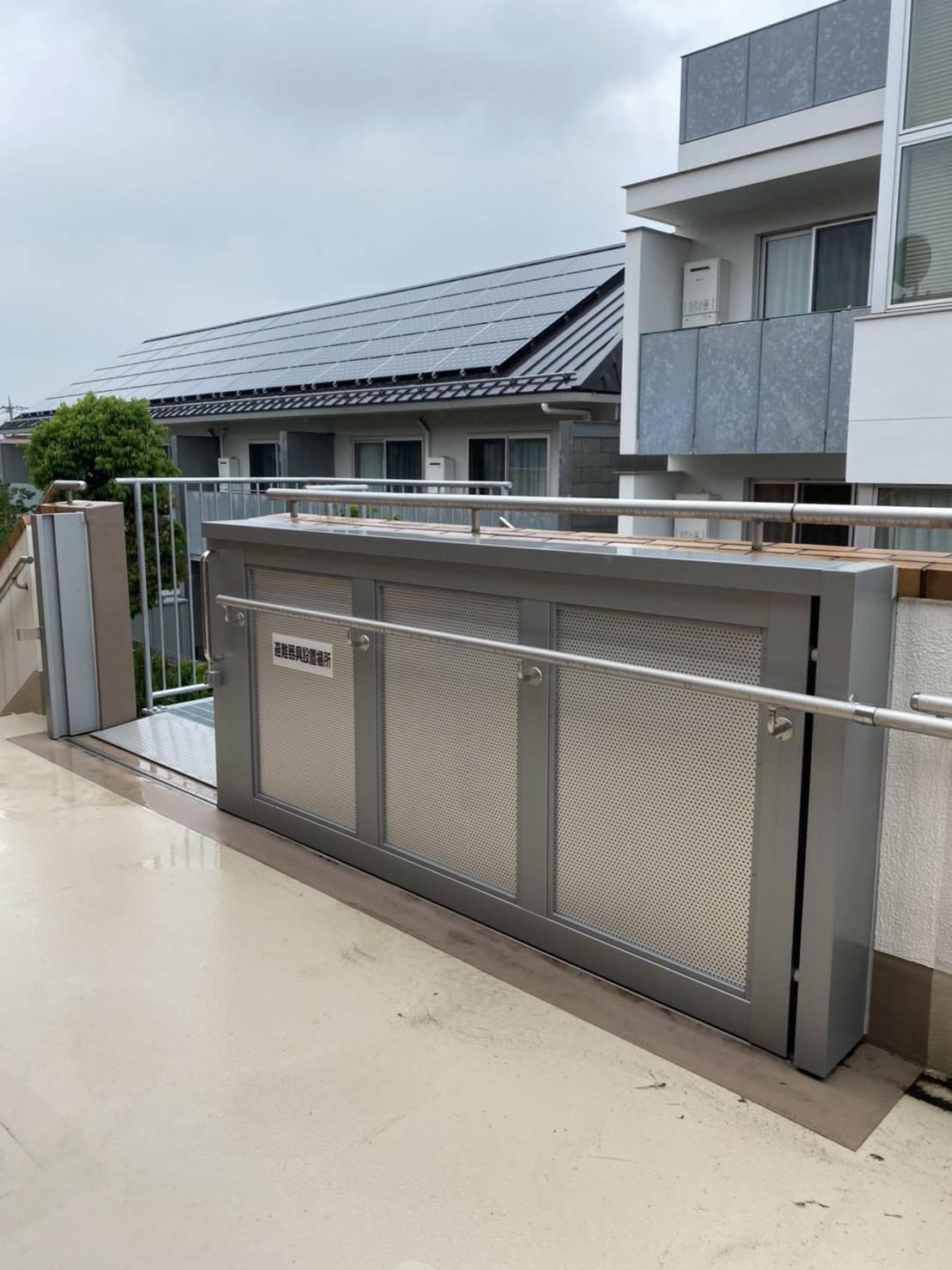 避難用ドア引戸|東京都中野区某施設